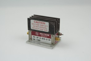MITEQ AMF-5B-080120-30-25P 1000 - 2000 MHz RF/MICROWAVE NARROW BAND HIGH POWER AMPLIFIER