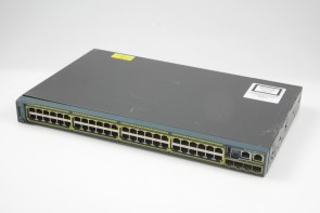 Cisco Catalyst WS-C2960S-48TS-L V05 48-Ports Rack-Mountable Switch Managed