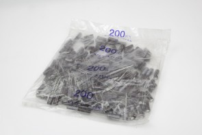 Lot of 200 Condensateurs 470uF 16V 105øC Nichicon H0037(20MM LONG)