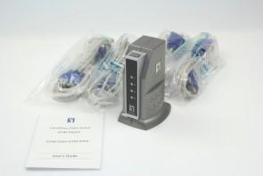 Level One KVM-0405 Kvm Switch For PS/2 4-Port
