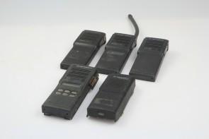 Lot Of 5 Motorola Handie Talkie MTX 838,MTX2000,GP900,GP300