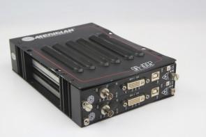 MERIDIAN SR-1002 2-slot Chassis W/ST-1RG-0 DVI/RGB Fiber System Transmitter