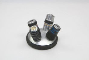 Microscope Nosepiece 4 Position Turret w/Eyepieces