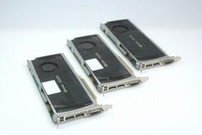3 X HP NVIDIA Quadro FX4000 2GB Video card DVI-I Display Port 608533-003  #1