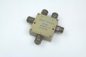 MINI CIRCUITS POWER SPLITTER ZA4PD-4 2000-4200 MHz n type