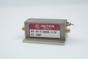 MITEQ RF POWER AMPLIFIER 0.8MHz - 0.96MHz AMF- 3F-00820096-14-30P