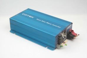Cotek S600R-224 Pure Sine Wave Inverter 24.0VDC input, 600Watt 230output
