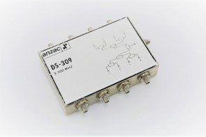 Anzac DS-309 8 Way Power Divider 2 to 500 MHz,SMA
