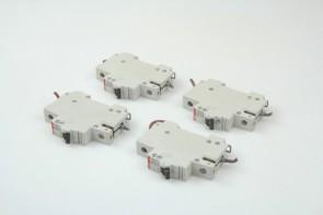 Lot of 4 ABB S271 C16 16amp Circuit Breaker mini 230/400V
