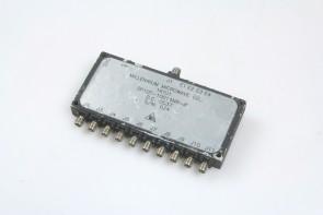 MILLENNIUM SP10T-10014NR-A 20 MHz - 2 GHz PIN diode single pole, ten throw switch