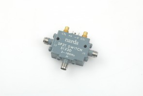 Narda S123D Solid State Switch, 2 to 18 GHz, SP2T