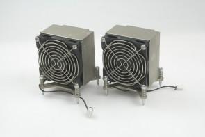 Lot of  2 HP Z600 Z800 Workstation Performance CPU Heatsink Assembly 463991-001