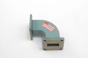 Narda 350H Microwave Waveguide 90 Deg Elbow USED