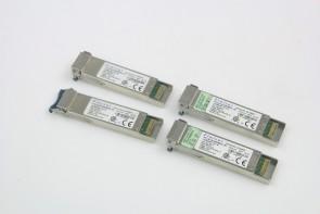 Lot of 4 Finisar FTLX1412M3BCL-EI 10GBASE-LR-LW OC-192 SR-1 1310nm