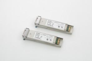 Lot of 2 JDSU XFP OC-192 SR-1 10GBASE-LR 1310nm Transceiver 10Gb