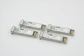 Lot of 4 Opnext TRF5013FN-GA220 10G 1310nm 10km XFP Optical Transceiver