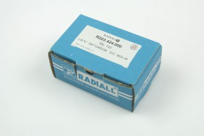 Lot of 100 RADIALL R223.424.000 RF Coaxial MMBX(F) PCB SMT Connector