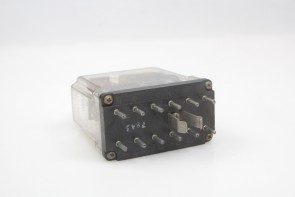 Struthers Dunn 219 ABA-P Relay 120V 60HZ-Coil 115VAC 10A-Contacts 219ABAP Close Differential Relay, 85-135V