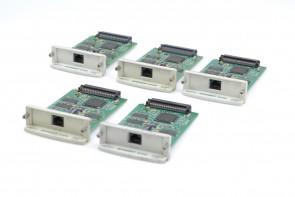 Lot of 8 HP JetDirect 610N Printer Network Card J4169A