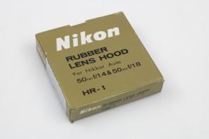 LOT OF 4 Nikon rubber lens hood HR-1 50mm F1.4 for AF80-200mmF4.5-5.6D