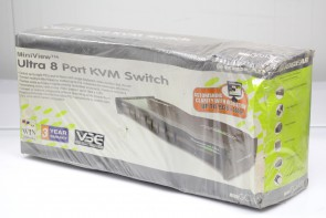 IOGEAR MiniView Ultra KVM Switch GCS138 - KVM switch New And Sealed- 8 ports