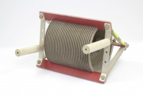 Air Coil, RF Inductor,71 uH,diameter 150mm long 175mm wire 12.5X2.5MM
