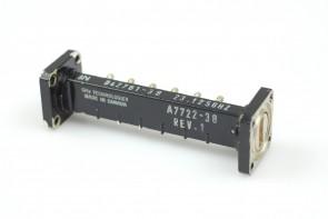 WAVEGUIDE BANDPASS FILTER WR42 18-26.5GHz A7722-30 70cm
