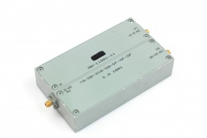 RF Bandpass filter diplexer In 30 - 400MHz , out1: 45 - 95MHz 2: 285 - 335MHz