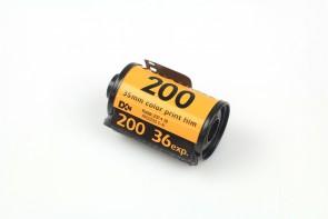 Lot of 5 Kodak Gold 200 Color 35mm 36 exp. Film -11/2008 #2