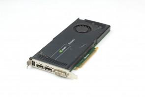 HP NVIDIA Quadro FX4000 2GB Video card DVI-I Display Port 608533-003 671137-001 #2