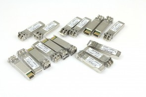 LOT OF 8 AVAGO 850nm 10GB SFP AFBR-709SMZ-NA3
