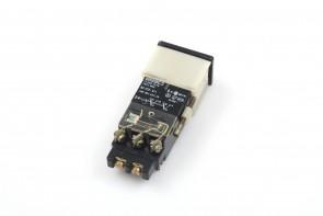 EAO, Push Button- 250V AC 10A 02-222.011/02-619.011 Lamp Max 60V/1.2W