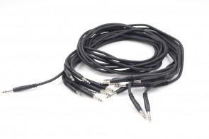 Lot of 9 COMSPACE 32677 Patchbay Bantam Cable 120Cm
