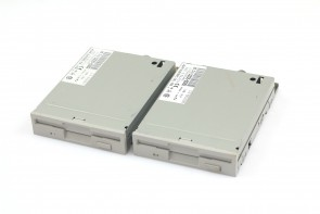 LOT OF 2HP FLOPPY DRIVE 3.5 1.44MB P/N D2035-60282
