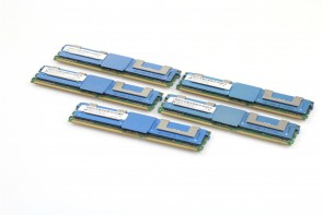 40GB 5x8GB EMC 100-562-766 PC2-5300F DDR2 FB ECC Server Memory Ram with Heatsink