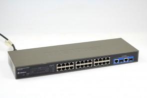 TRENDnet TEG-224WS+ H/W:A1.1R 26-port 10/100/1000Mbps Web-Based Smart Switch