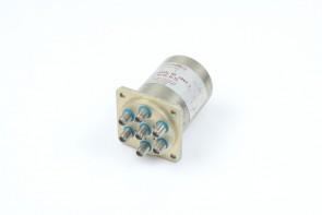 RLC ELECTRONICS Coaxial SWITCH SR-6C-D-TL 28VDC DC-18 GHz 6-Way