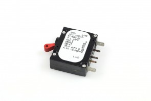 Airpax Circuit Breaker, APG-1REC4-51-502-21 10A 250VAC
