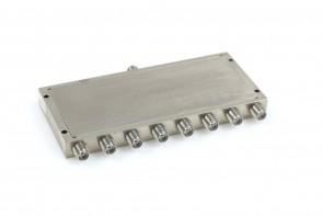 MITEQ POWER DIVIDER 12-26.5GHz  8 PORT PD08-12002650 SMA