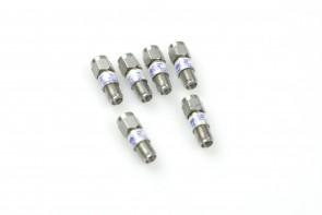 MaCom SMA coaxial attenuator, 6 dB, 2 W, 18 GHz (1 unit)