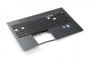 """HP Zbook 15"""" Palmrest SPS: 734281-001 w/KEYBOARD US 733688-001 SN7123BL"""
