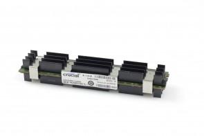 lot of 2  Crucial 2gb PC2-5300 667MHz DDR2 ECC FBDIMM RAM - CT25672ap667.k18f0d6
