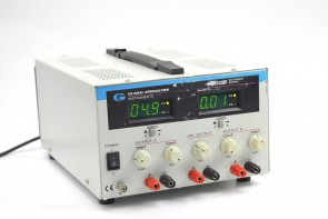 Global 1302B Triple output, two 0-32V @ 2A and one 4-6VDC power supply