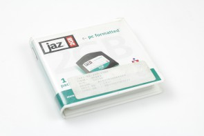 Lot of 3 disks iomega JAZ 2GB NEW Storage Disk pc formatted