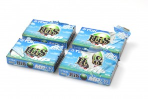 Lot of 8 TDK Hi 8 MP Cassettes 120 Camcorder Video Tapes New