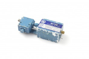 miteq rf amolifier 4.4-5.0ghz amf-4s-4450-14+rf isolator