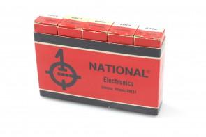 Lot of 5 National electronics 6DC6 Radio Vacuum Tube NOS