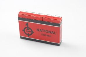 Lot of 5 National electronics EAA901 Radio Vacuum Tube NOS