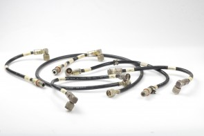 lot of 6 N-Type RG214/U female to 90 Degree Male Cable plus more any size