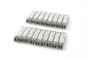 Lot of 17 Finisar FLTF8528P3BNV-E5 Sfp+ 1000base-sx transceiver 019-078-042